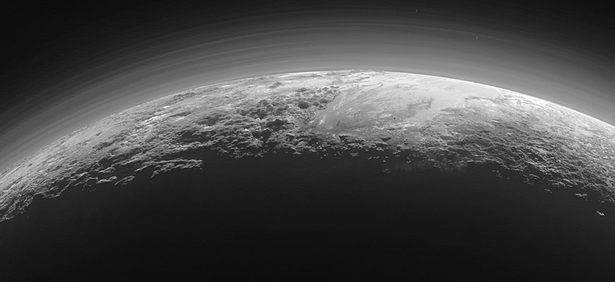 Incredible Pluto close-up as photographed by NASA's New Horizons
