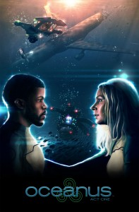 Oceanus short film poster. Click to enlarge.