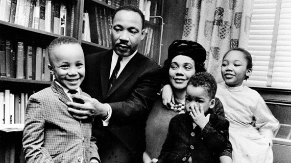 Star Trek was the only TV show that Dr. King allowed his children to stay up and watch.
