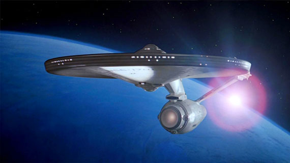 For the first time, we're able to ascertain the actual size of theEnterprise.