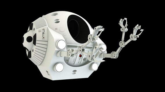 The EVA Pod from 2001: A Space Odyssey is the most realistic vehicle on this list.