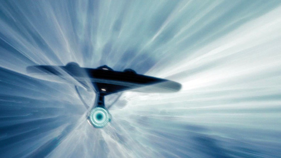 An example of the Enterprise's new Star Wars-inspired Warp effect.