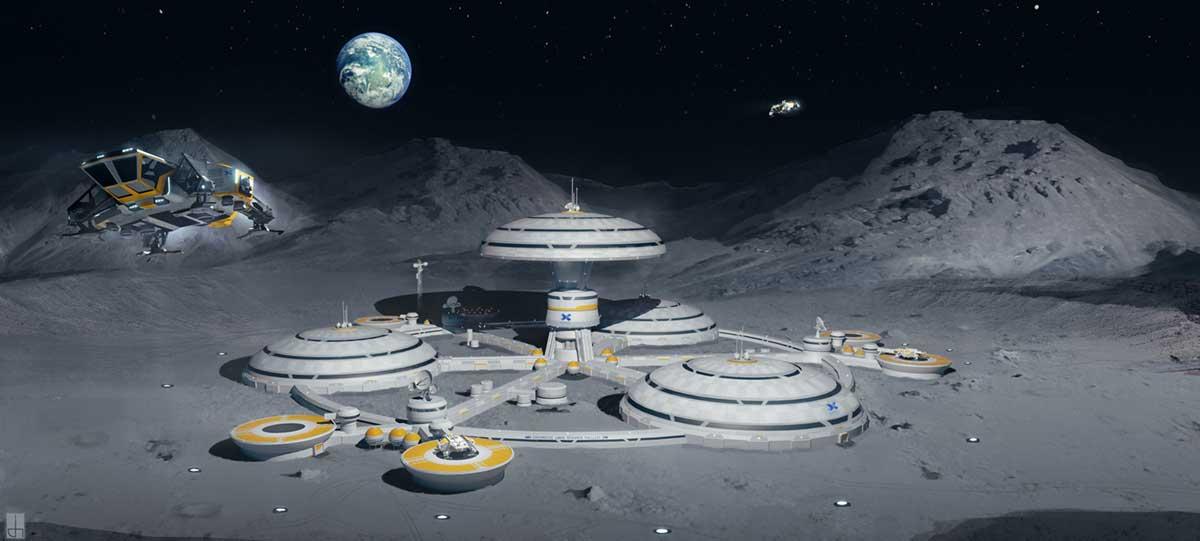moon base meteor - photo #41
